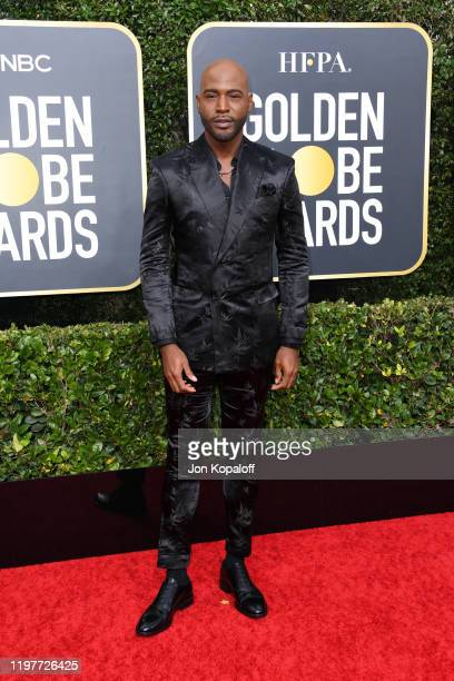 Karamo Brown attends the 77th Annual Golden Globe Awards at The Beverly Hilton Hotel on January 05, 2020 in Beverly Hills, California.
