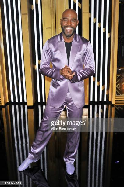 """Karamo Brown attends the """"Dancing With The Stars"""" Season 28 show at CBS Television City on September 16, 2019 in Los Angeles, California."""