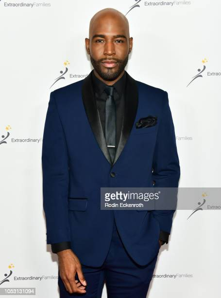 Karamo Brown attends the Extraordinary Families 3rd annual Awards Gala at the Beverly Wilshire Four Seasons Hotel on October 24, 2018 in Beverly...