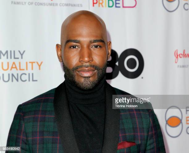 Karamo Brown attends the Family Equality Council's annual Impact Awards at The Globe Theatre on March 17 2018 in Universal City California