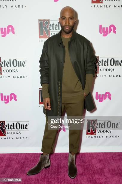 Karamo Brown attends the Ketel One FamilyMade Vodka Celebrates Queer Eye Cast At PreEmmy Party at Kimpton La Peer Hotel on September 8 2018 in West...
