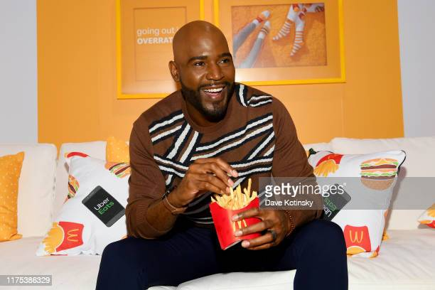 Karamo Brown attends the McDonald's & UberEats: McDelivery Night In celebration at Chelsea Market on September 17, 2019 in New York City.