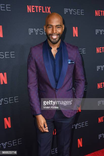 Karamo Brown attends the Netflix FYSee Kick Off Party at Raleigh Studios on May 6, 2018 in Los Angeles, California.