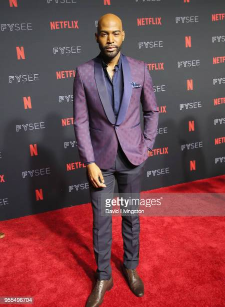 Karamo Brown attends the Netflix FYSEE Kick-Off at Netflix FYSEE At Raleigh Studios on May 6, 2018 in Los Angeles, California.