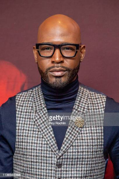 """Karamo Brown attends the """"Us"""" New York Premiere at Museum of Modern Art on March 19, 2019 in New York City."""