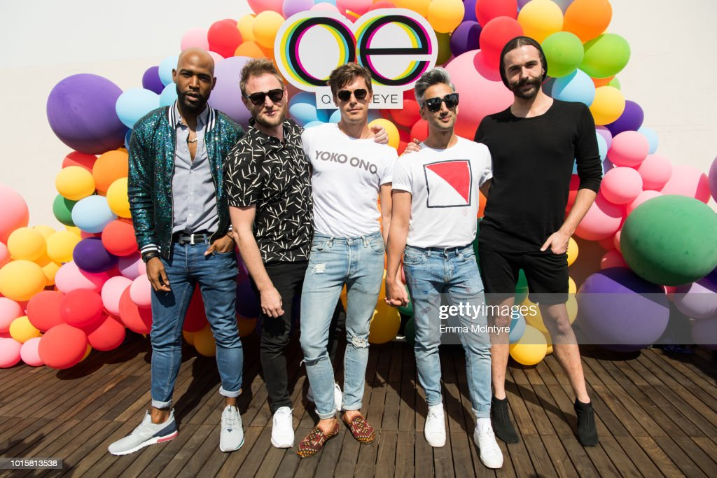 """Netflix's """"Queer Eye"""" Celebrates 4 Emmy Nominations With GLSEN : News Photo"""