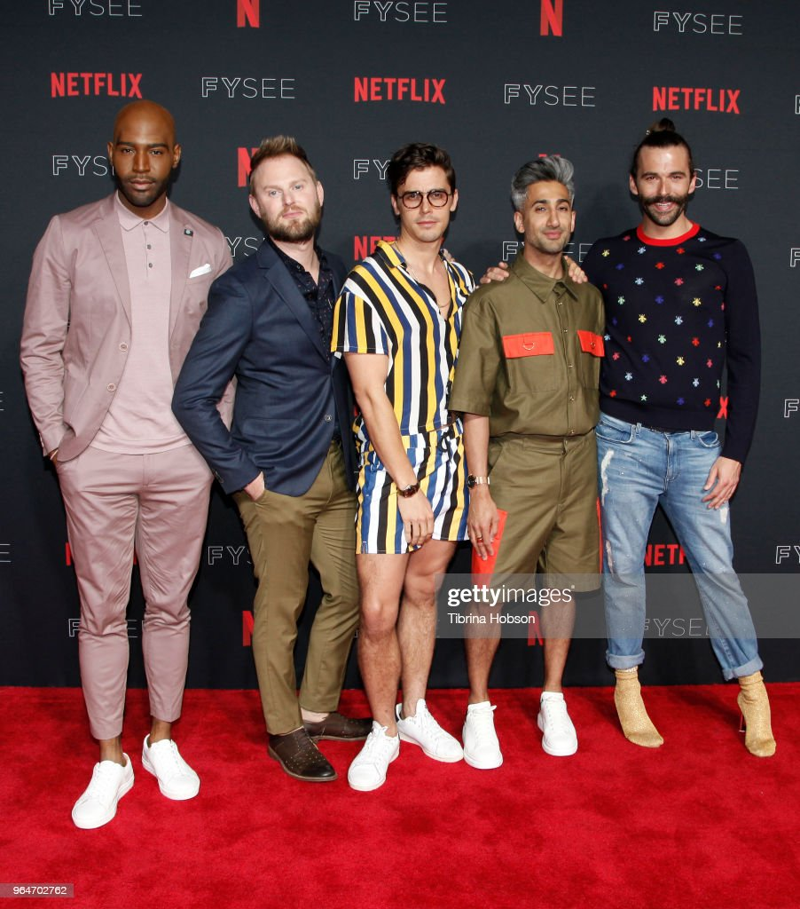 "#NETFLIXFYSEE Event For ""Queer Eye"" - Arrivals : News Photo"