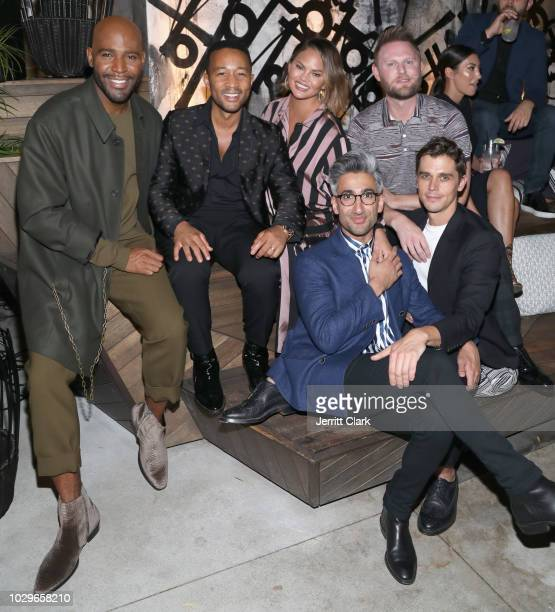 Karamo Brown John Legend Chrissy Teigen Tan France Bobby Berk and Antoni Porowski attend The Queer Eye Emmy Cast Party hosted by Ketel One FamilyMade...