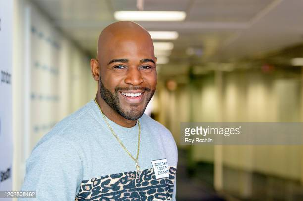 Karamo Brown visits SiriusXM Studios on January 29, 2020 in New York City.