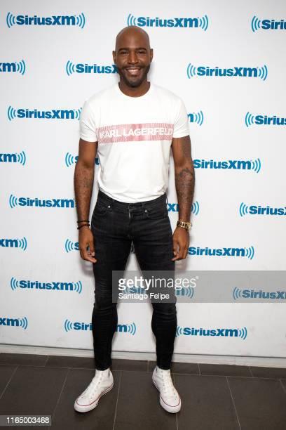 Karamo Brown visits SiriusXM Studios on July 29, 2019 in New York City.