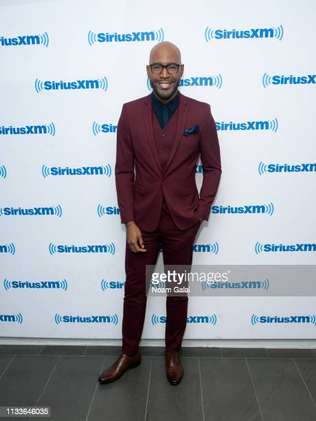 Karamo Brown visits the SiriusXM Studios on March 04 2019 in New York City