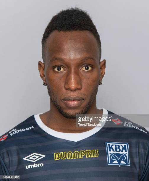 Karamoko Daouda Bamba of Team Kristiansund BK on March 7 2017 in Kristiansund Norway