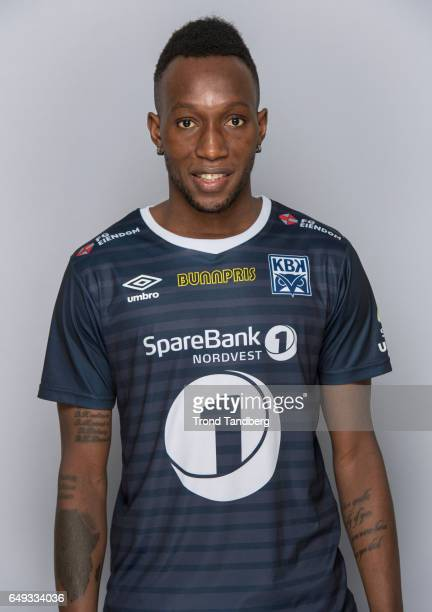 Karamoko Daouda Bamba of Team Kristiansund BK on March 7 2017 in Kristiansund Norway
