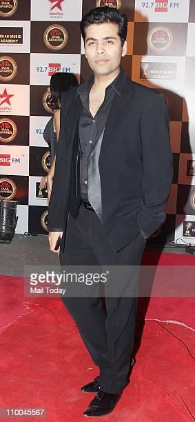 Karan Johar at Big Star Indian Music Academy Awards 2011 in Mumbai