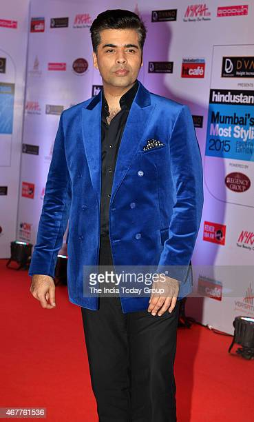 Karan Johar at HT Mumbais most stylish awards 2015 in Mumbai