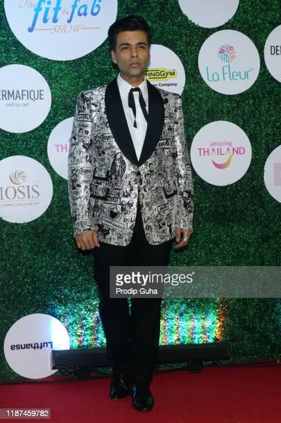 Karan Johar attends the Global Spa Fit & Fab Awards on November 13, 2019 in Mumbai, India.