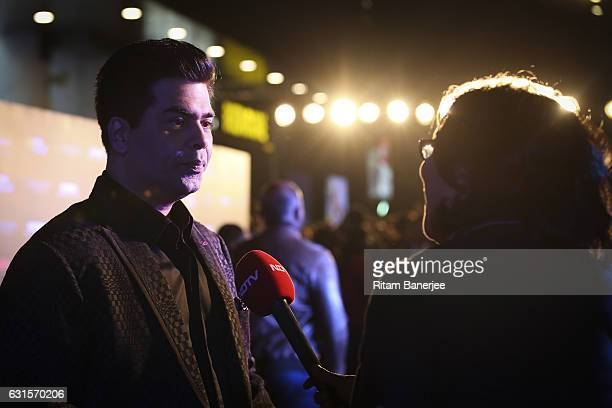 Karan Johar attends the red carpet and VIP fan screening of the Paramount Pictures 'xXx The Return Of Xander Cage' on January 12 2017 at IMAX PVR...