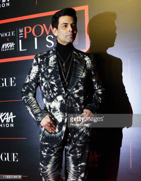 Karan Johar attends the The Powerlist by Nykaa Fashion and Vogue India on December 092019 in Mumbai India