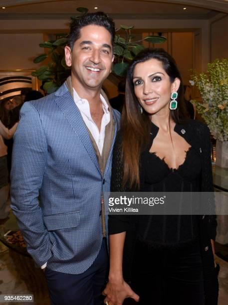Karan Khanna and Priyanka Khanna attend 'Box of Butterflies' Book Party on March 20 2018 in Beverly Hills California