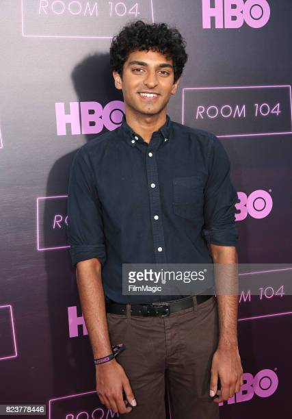Karan Soni attends HBO Room 104 Premiere at Hollywood Forever on July 27 2017 in Hollywood California