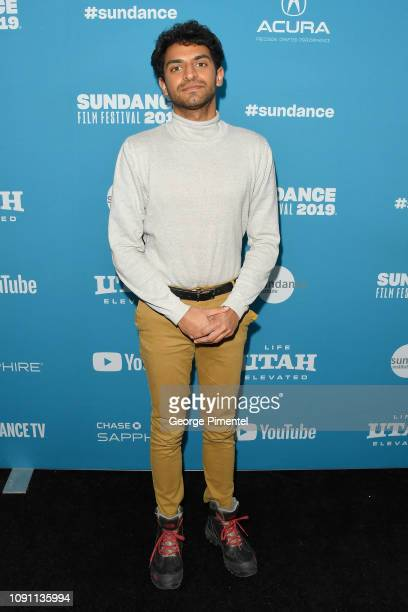 Karan Soni attends the Corporate Animals Premiere during the 2019 Sundance Film Festival at Eccles Center Theatre on January 29 2019 in Park City Utah