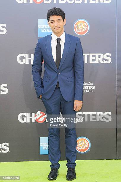 Karan Soni attends The Los Angeles Premiere of Ghostbusters at TCL Chinese Theatre on July 9 2016 in Hollywood California