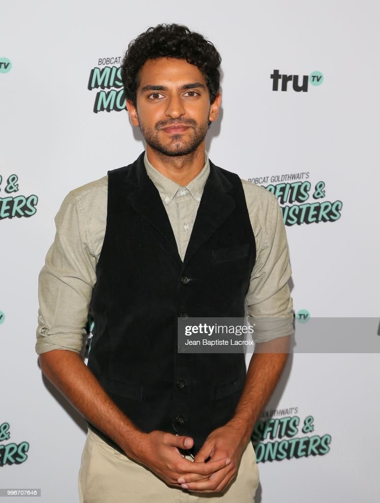 Karan Soni attends the premiere of truTV's 'Bobcat Goldthwait's Misfits & Monsters' held at Hollywood Roosevelt Hotel on July 11, 2018 in Hollywood, California.