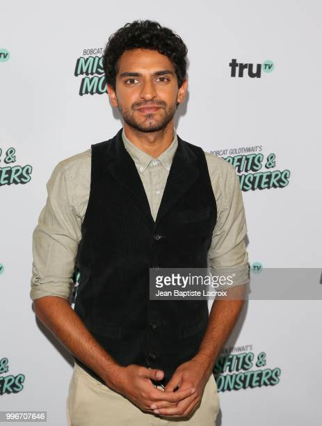 Karan Soni attends the premiere of truTV's Bobcat Goldthwait's Misfits Monsters held at Hollywood Roosevelt Hotel on July 11 2018 in Hollywood...