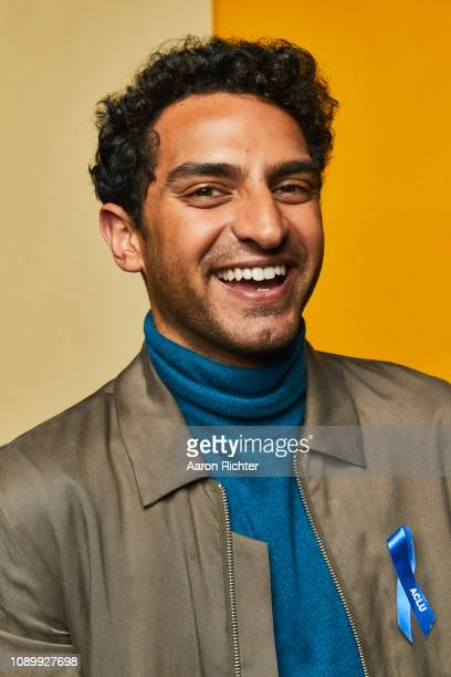 Karan Soni from 'TBS' Miracle Workers' poses for a portrait in the Pizza Hut Lounge in Park City Utah on January 26 2019 in Park City Utah