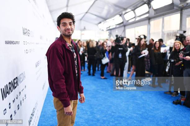 Karan Soni of TBS's Miracle Workers attends the WarnerMedia Upfront 2019 arrivals on the red carpet at The Theater at Madison Square Garden on May 15...
