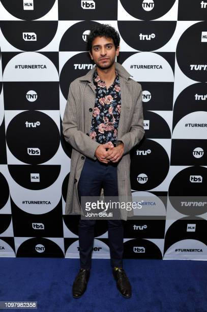 Karan Soni of the television show 'Miracle Workers' poses in the green room during the TCA Turner Winter Press Tour 2019 at The Langham Huntington...