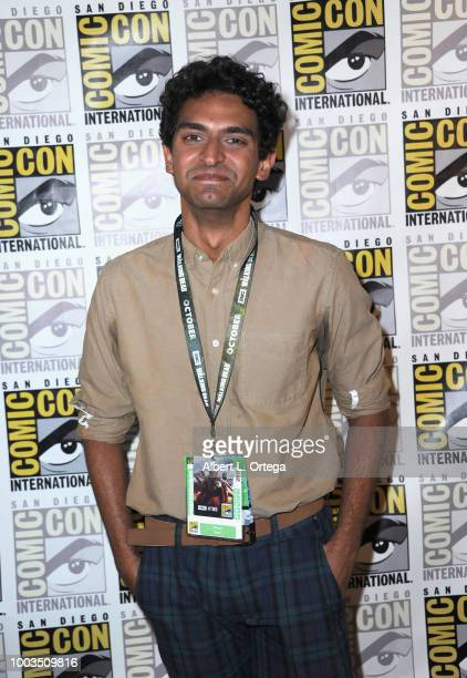 Karan Soni poses at the Deadpool 2 panel during ComicCon International 2018 at San Diego Convention Center on July 21 2018 in San Diego California
