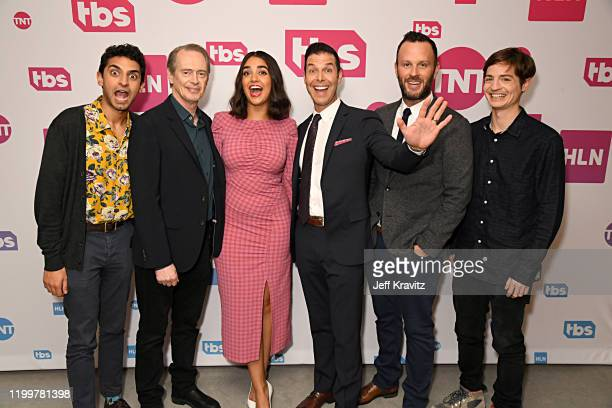 Karan Soni Steve Buscemi Geraldine Viswanathan General Manager TBS TNT and truTV Brett Weitz EVP of Original Programming at TBS TNT and truTV Thom...
