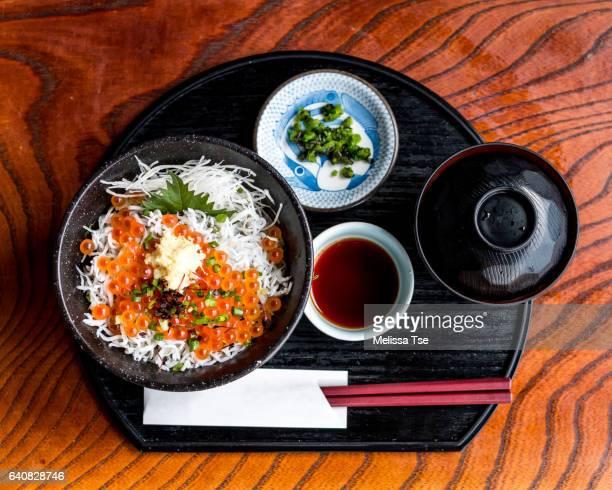 Karasu Don - Whitebait Rice Bowl