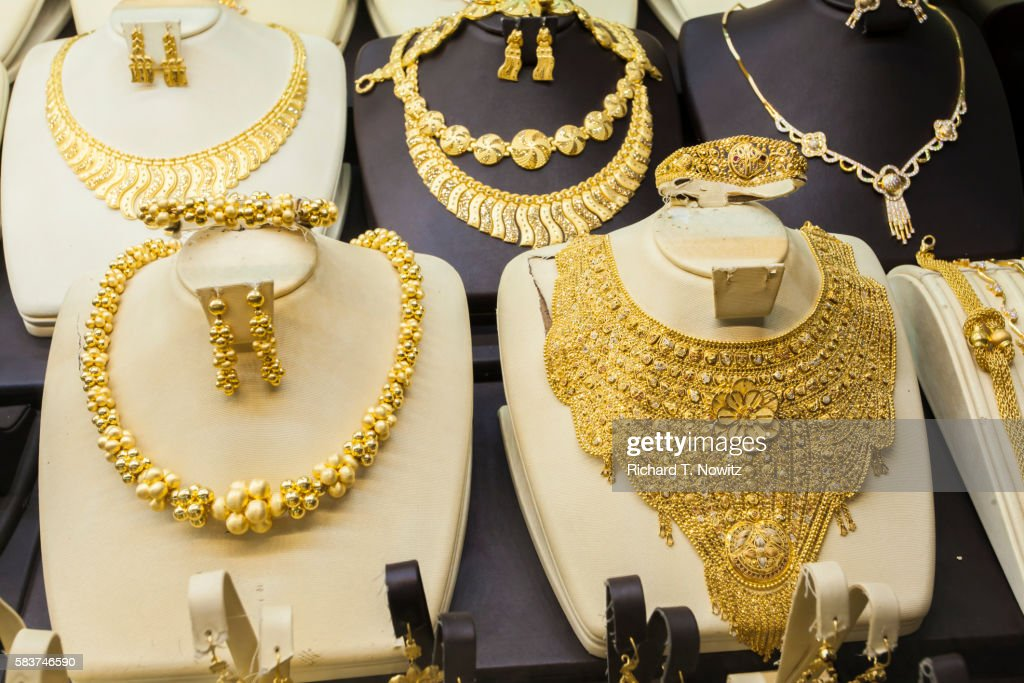 24 Karat Gold Jewelry Stock Photo Getty Images