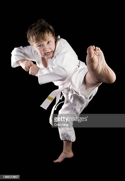 karate kid - mixed martial arts stock pictures, royalty-free photos & images