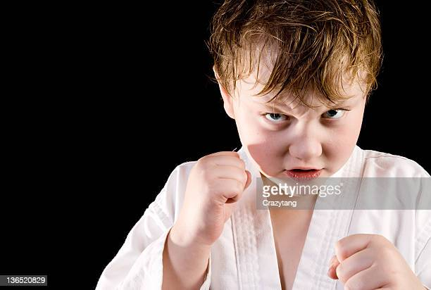karate kid - boxing belt stock pictures, royalty-free photos & images