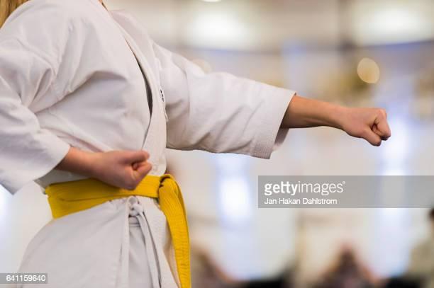 karate training - 武道 ストックフォトと画像