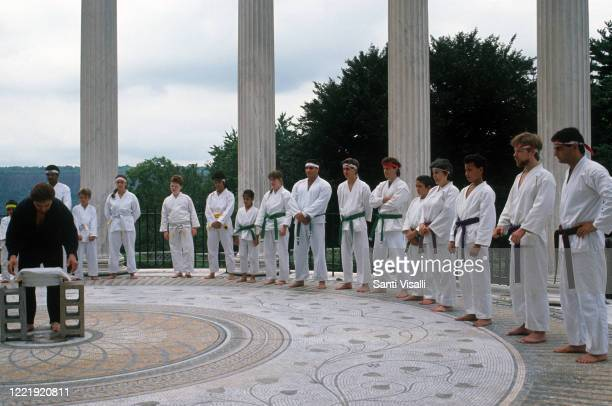 Karate Untermyer Park in Yonkers on July 7 1990 in New York New York