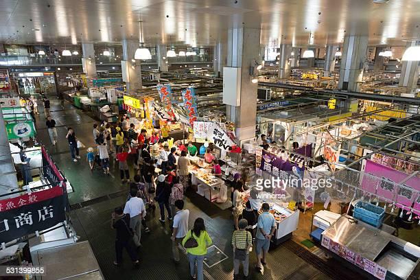 唐戸フィッシュマーケット日本で - 山口県 ストックフォトと画像