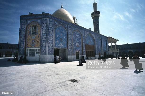 Karbala Mosque alHusayn march 1991 FDM8073