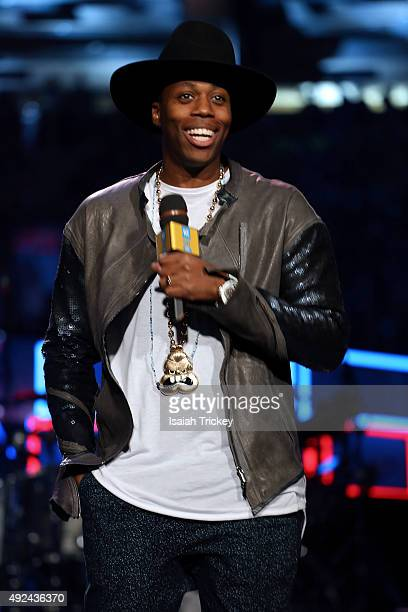 Kardinal Offishall attends WE Day Toronto at the Air Canada Centre on October 1, 2015 in Toronto, Canada.
