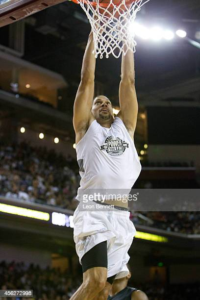 Kareem Abdul Jabar Jr attends the Power 106's AllStar Celebrity Basketball Game Benefiting Homeboy Industries at USC Galen Center on September 21...