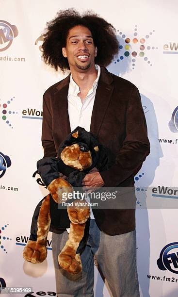 Kareem Abdul Jabar Jr during LA Clippers Corey Maggette Birthday Party November 18 2005 at in Hollywood California United States