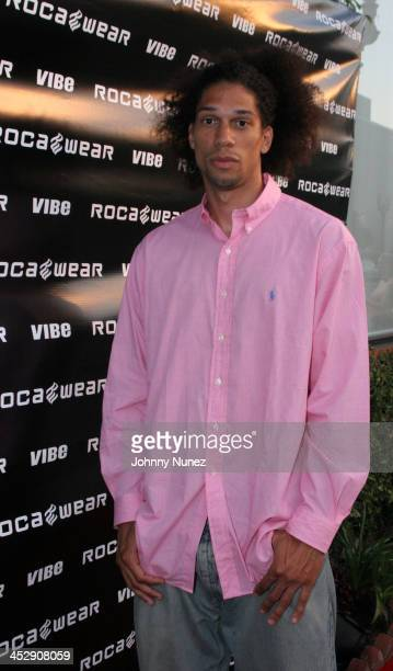Kareem Abdul Jabbar Jr during Vibe Magazine Presents RocAWear 2005 Hosted By Jay Z at The Lowe Gallery in Los Angeles California United States