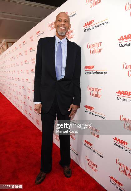 Kareem AbdulJabbar attends AARP The Magazine's 18th Annual Movies for Grownups Awards at the Beverly Wilshire Four Seasons Hotel on February 04 2019...