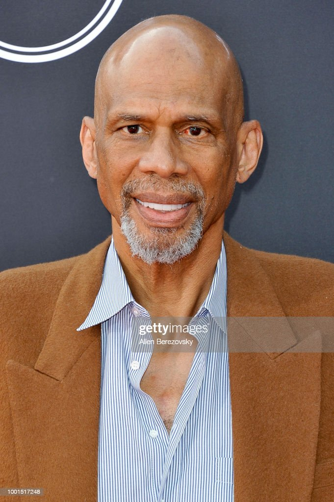 Kareem Abdul-Jabbar attends The 2018 ESPYS at Microsoft Theater on July 18, 2018 in Los Angeles, California.