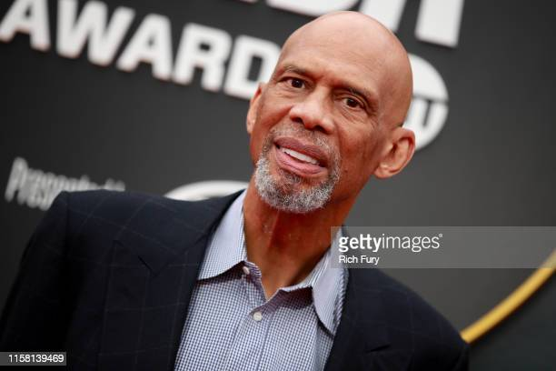Kareem Abdul-Jabbar attends the 2019 NBA Awards at Barker Hangar on June 24, 2019 in Santa Monica, California.