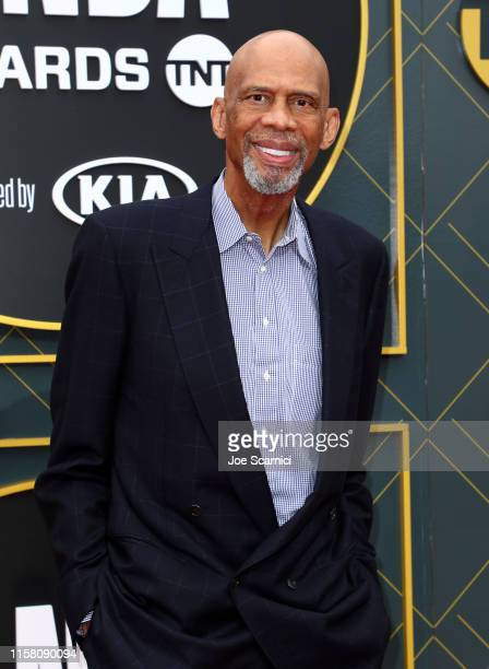 Kareem AbdulJabbar attends the 2019 NBA Awards presented by Kia on TNT at Barker Hangar on June 24 2019 in Santa Monica California