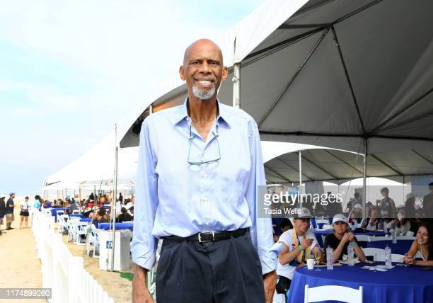 Kareem AbdulJabbar attends the 33rd Annual Nautica Malibu Triathlon Presented By Bank Of America on September 15 2019 in Malibu California